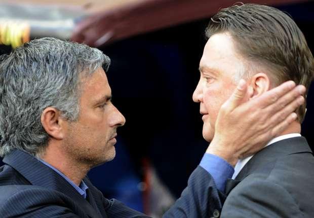 Van Gaal: I've had no contact with Mourinho