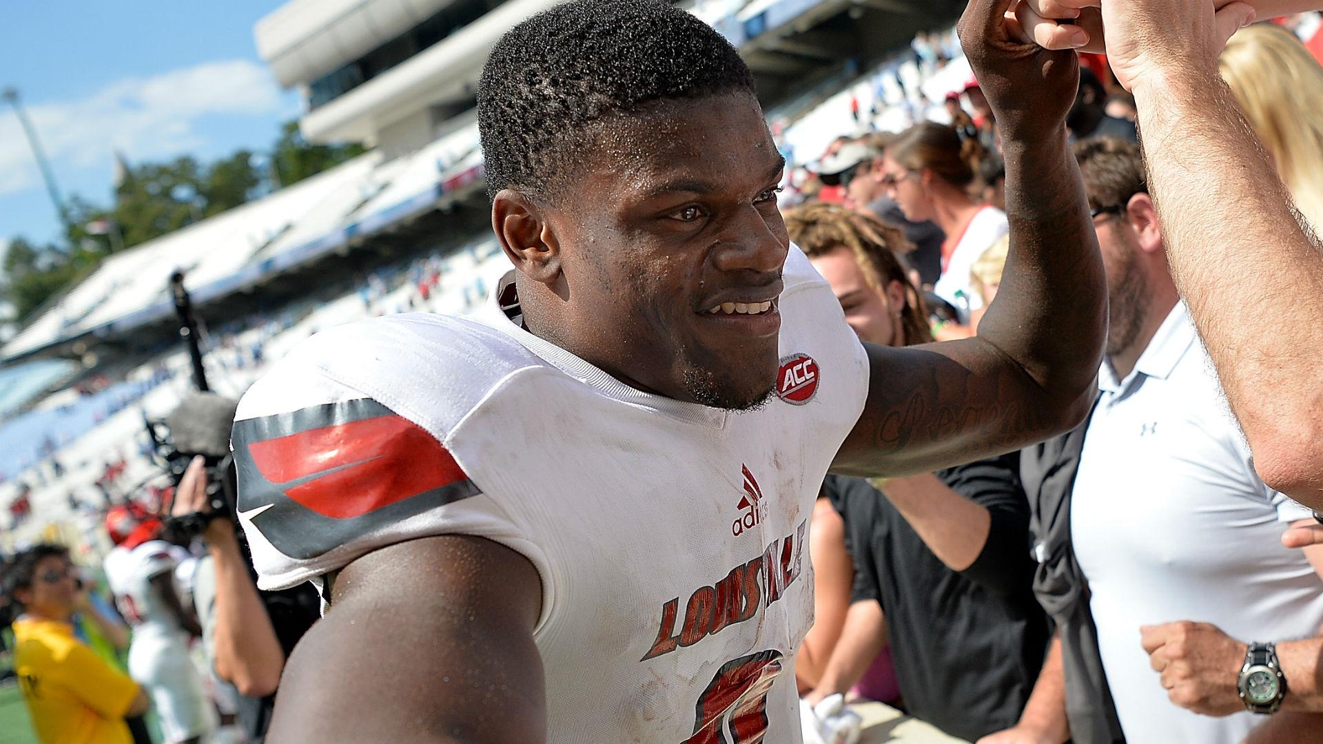 NFL Scouting Combine 2018: Louisville's Lamar Jackson makes it clear — he's strictly a quarterback