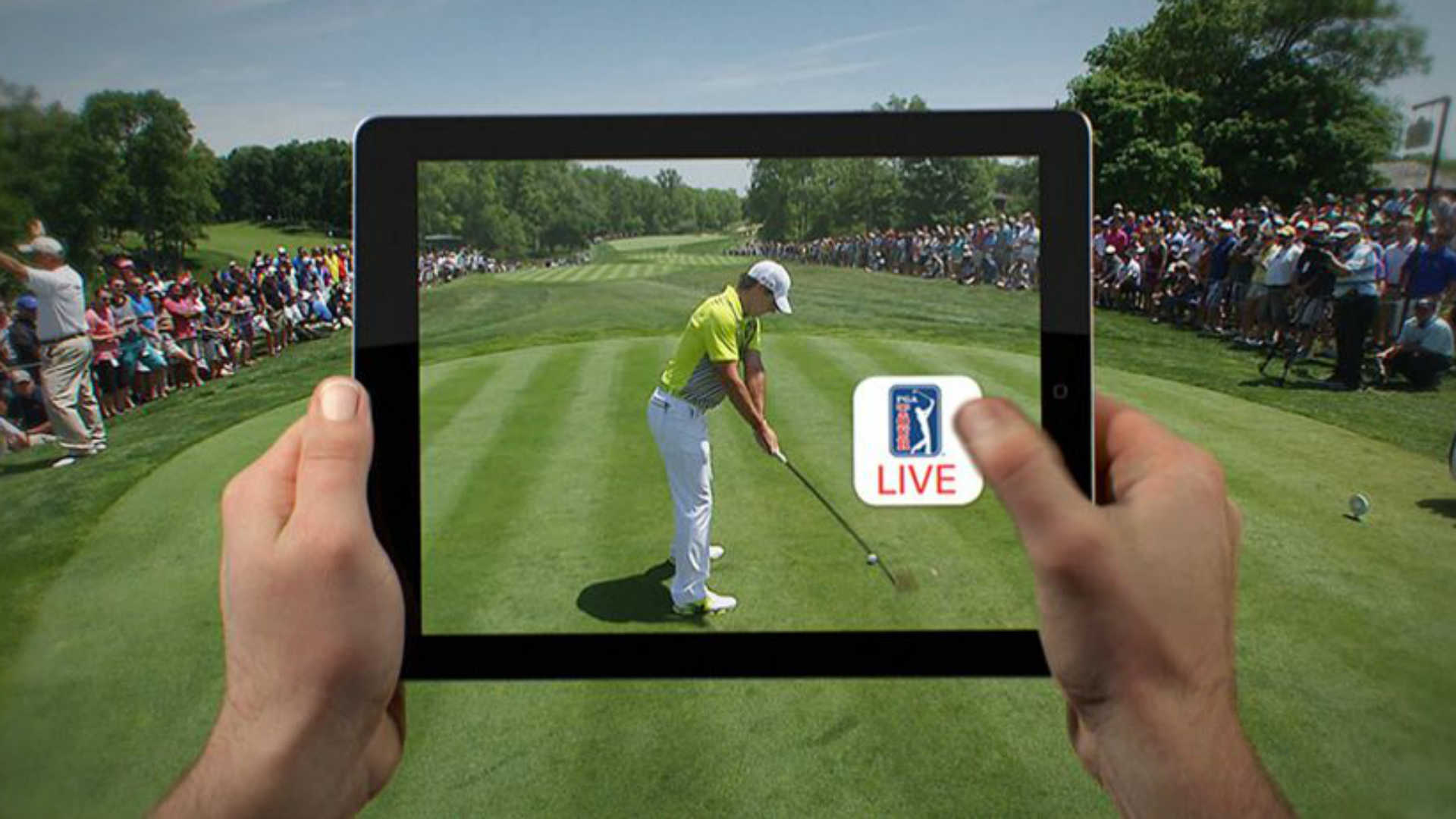 golf pga players to test live streaming practice pro. Black Bedroom Furniture Sets. Home Design Ideas