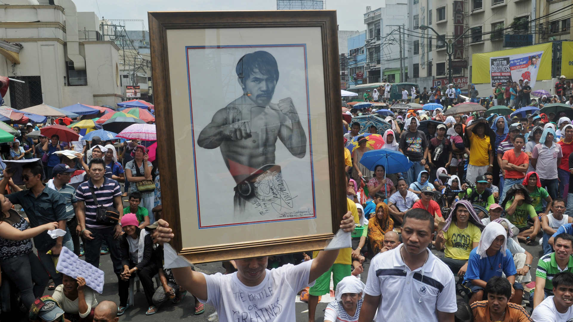 Manny Pacquiao fans in Philippines