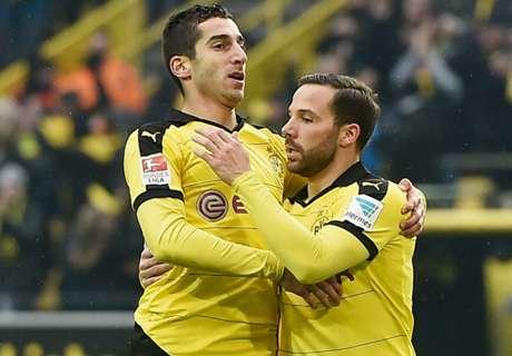Dortmund 1-0 Hannover: Mkhitaryan strike