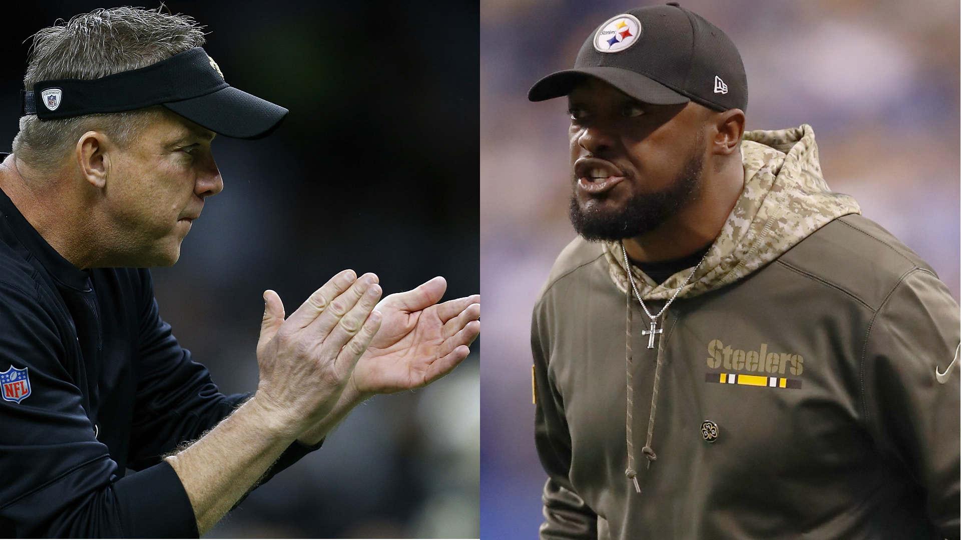 Saints, Steelers coaching staff to coach 2018 Pro Bowl