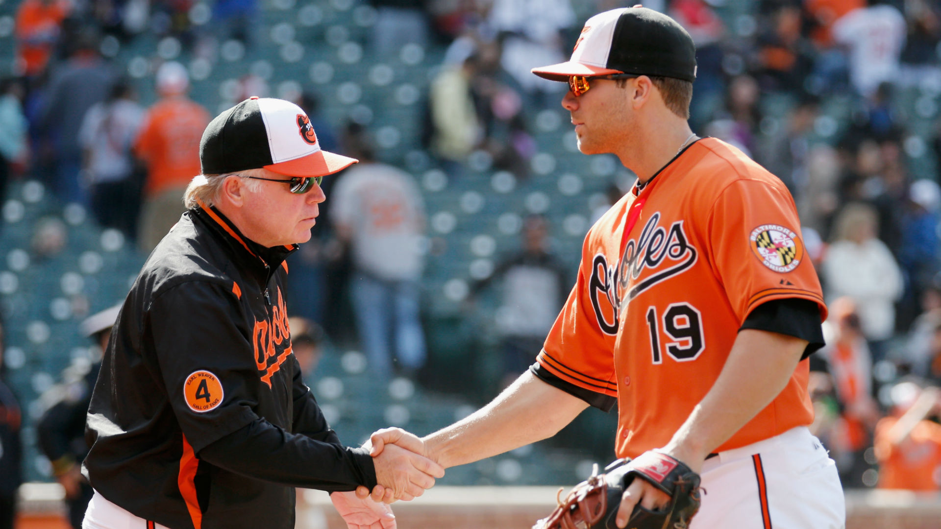 Buck Showalter, Chris Davis