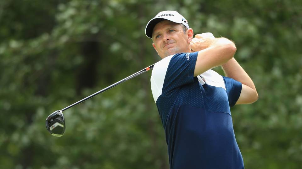 Dell Technologies Championship: Justin Rose leads crowded field at 6 under