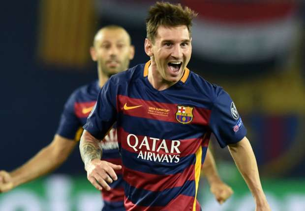 Messi's reveals new boots in Barcelona