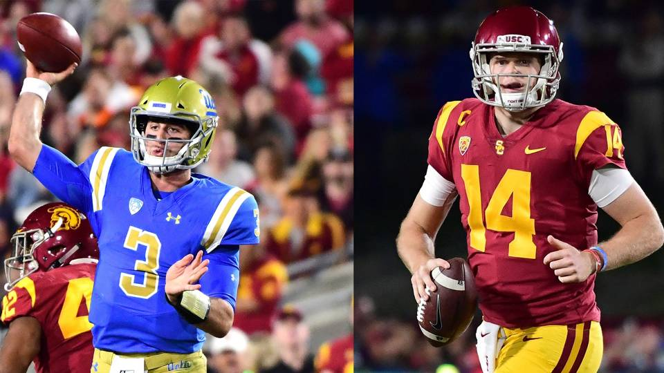 Josh Rosen (left), Sam Darnold (right)