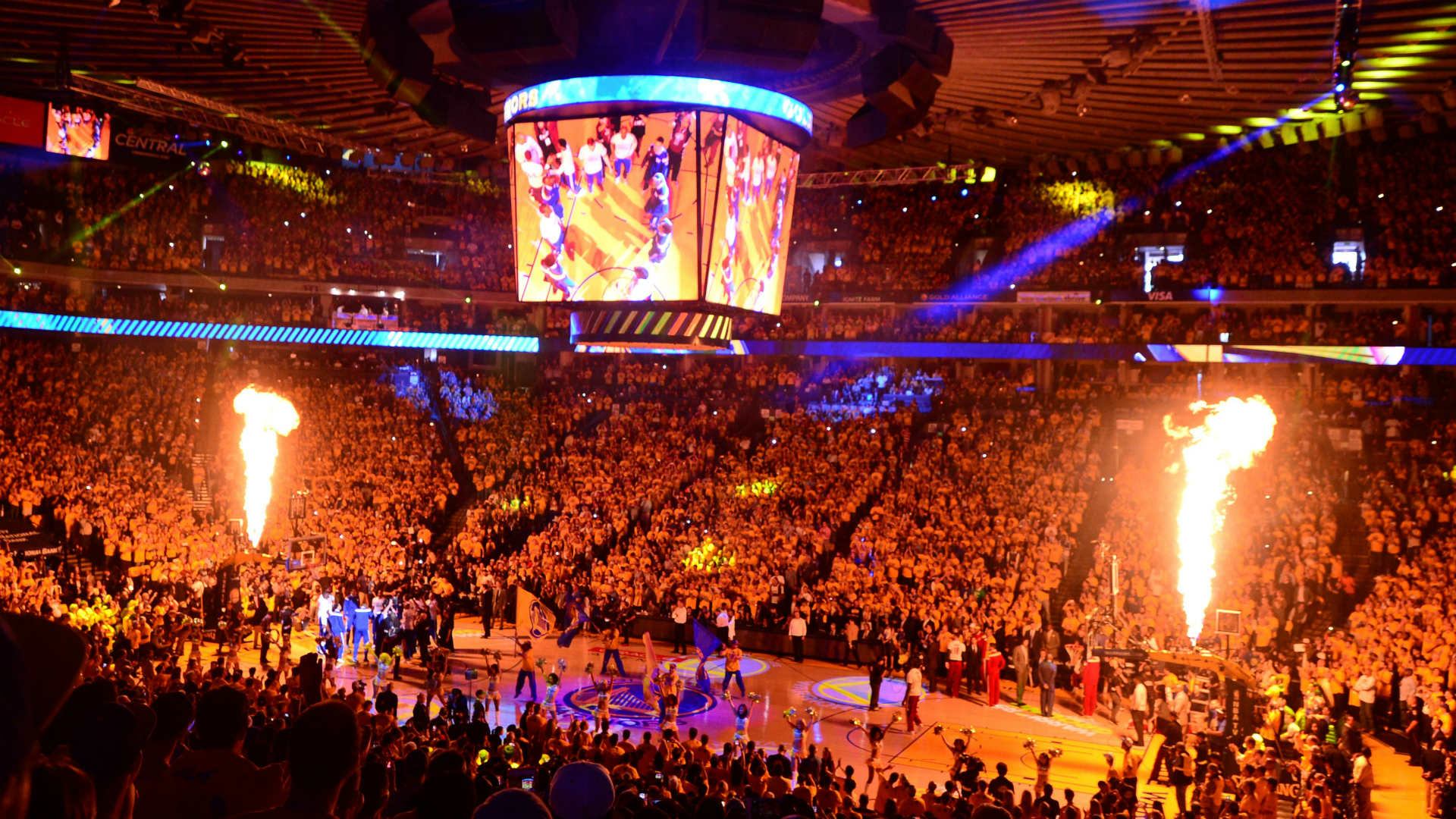 Warriors sell out Oracle Arena for Game 6 watch party ...