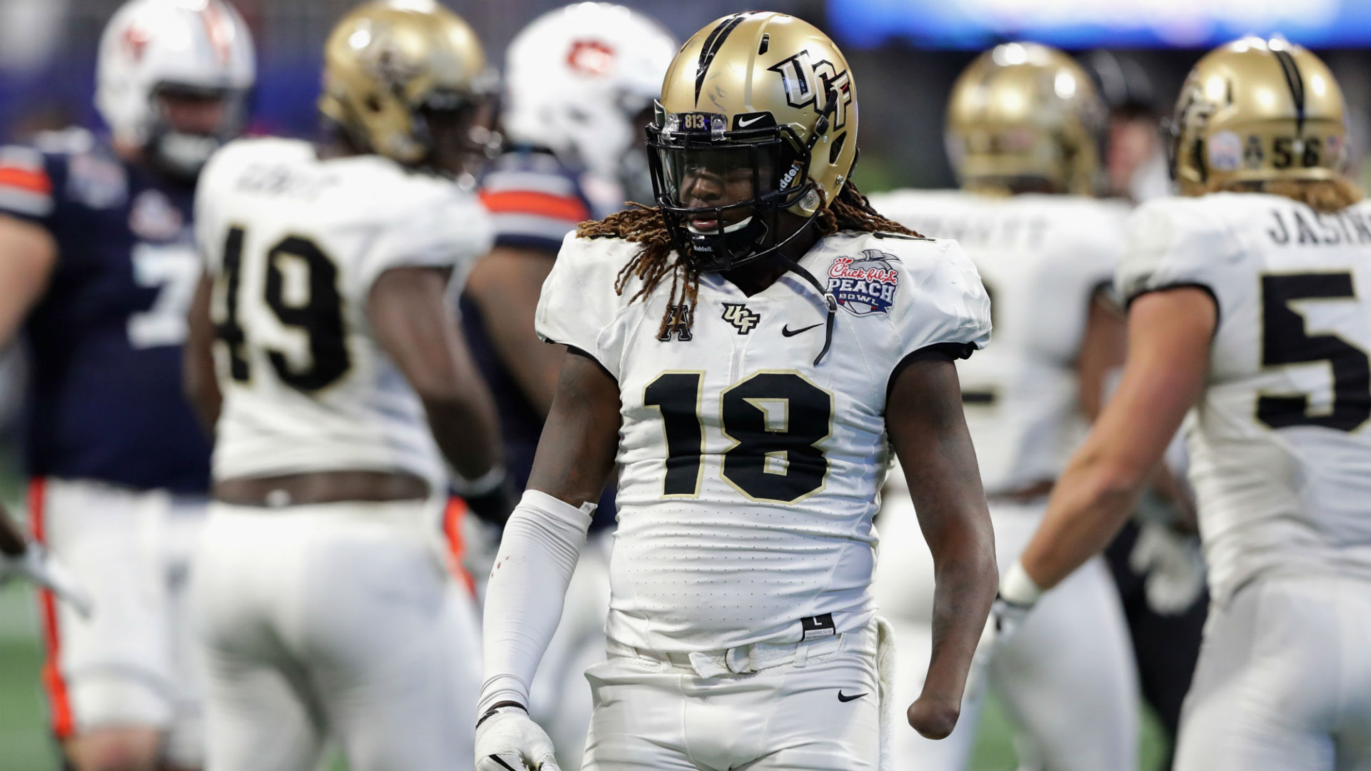 Shaquem Griffin's incredible combine continues with record-breaking 40-yard dash