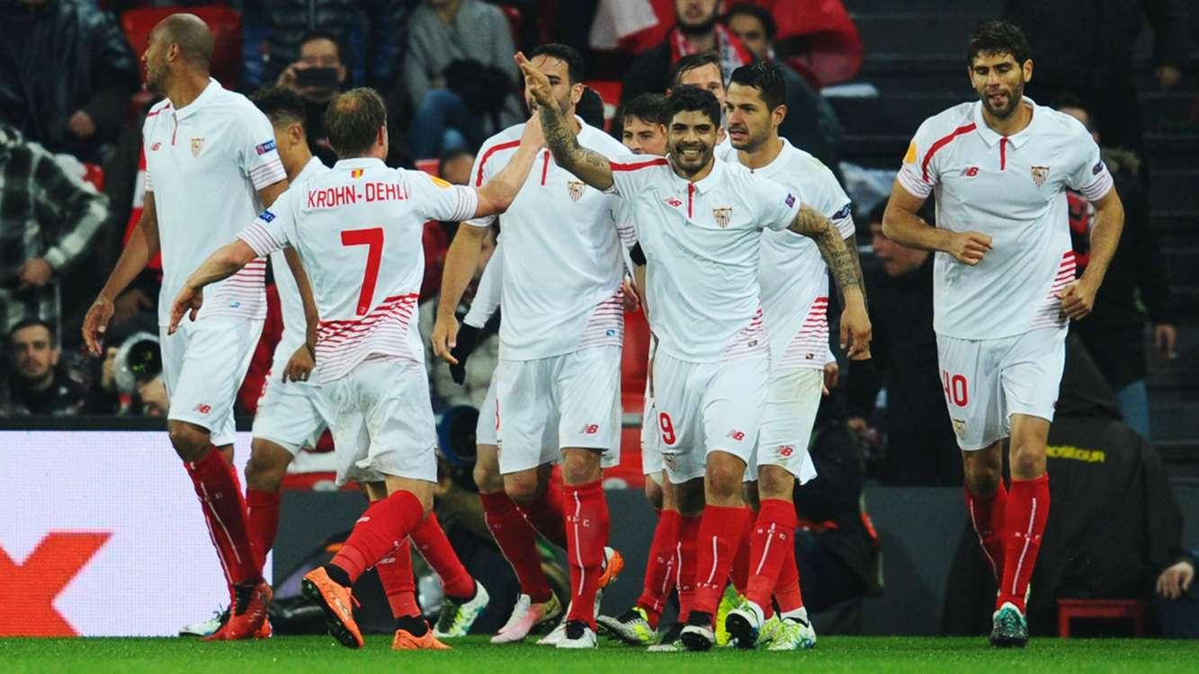 Victorias de Sevilla, Villarreal y Shakhtar, pero quedan todas las eliminatorias abiertas.
