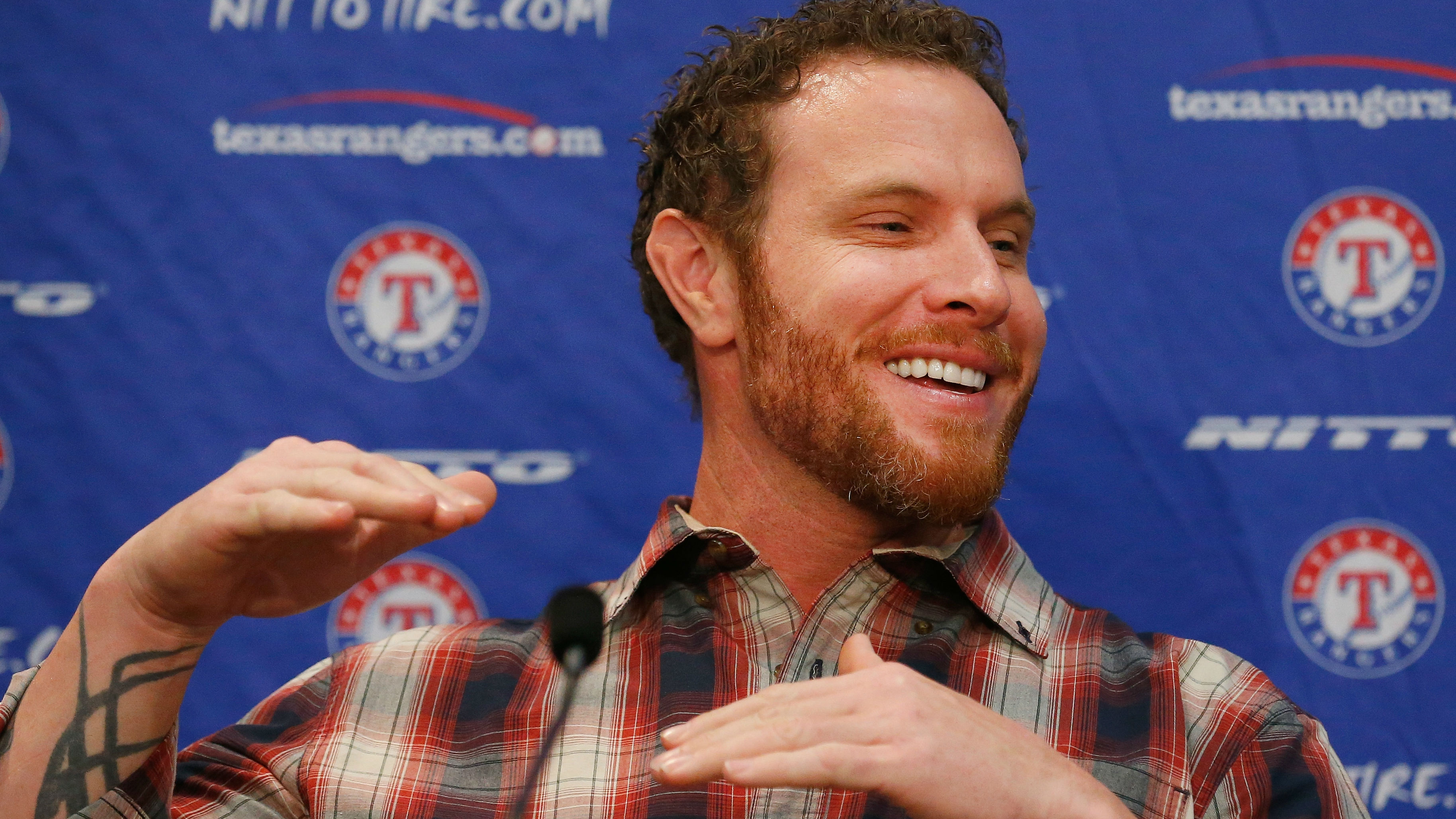 Josh Hamilton's Rangers reunion comes at a perfect time