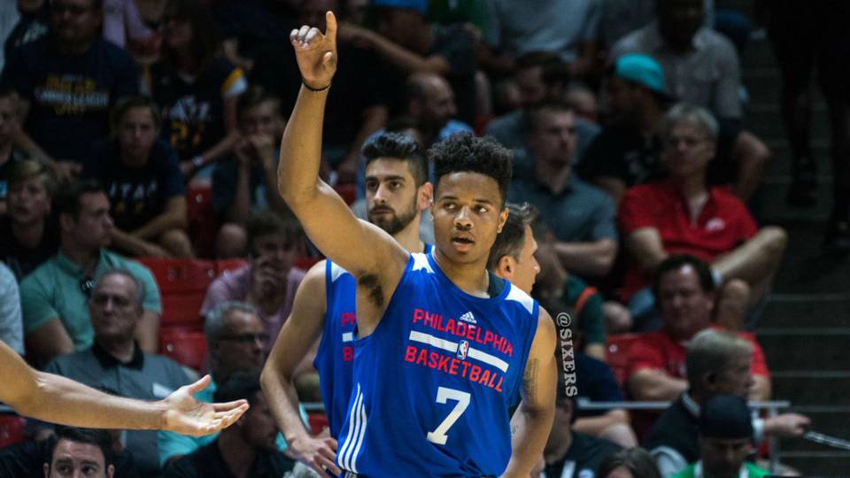 9bc63a42a Sixers  Markelle Fultz becomes first teen to record NBA triple-double