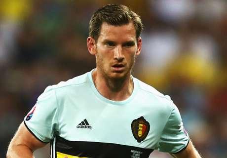 Vertonghen out of Euro 2016