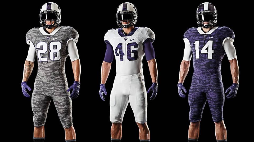 TCU unveils scaly new Nike uniforms  0decc4e1c