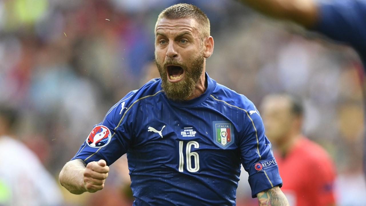 Daniele De Rossi a major doubt for Italy