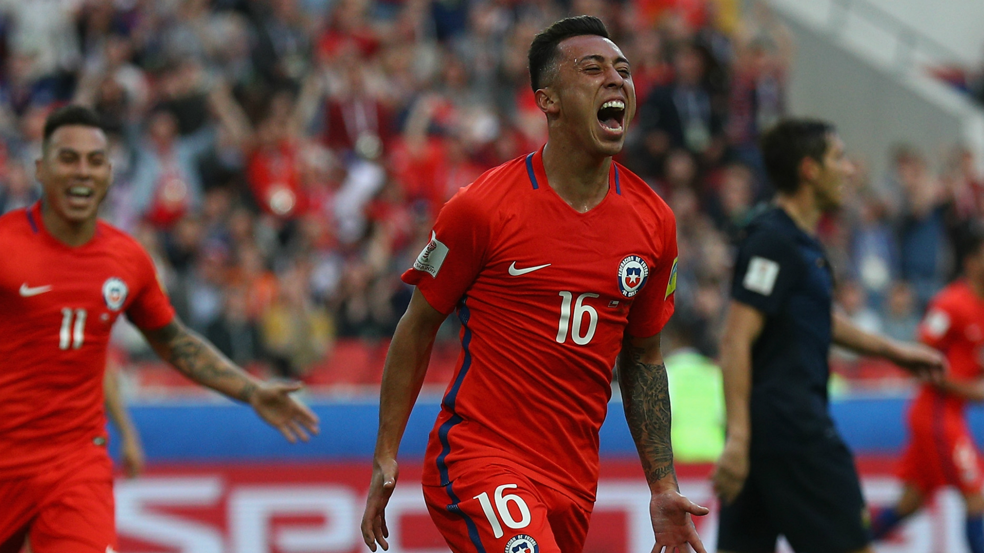 Germany, Chile advance to Confederations Cup semifinals