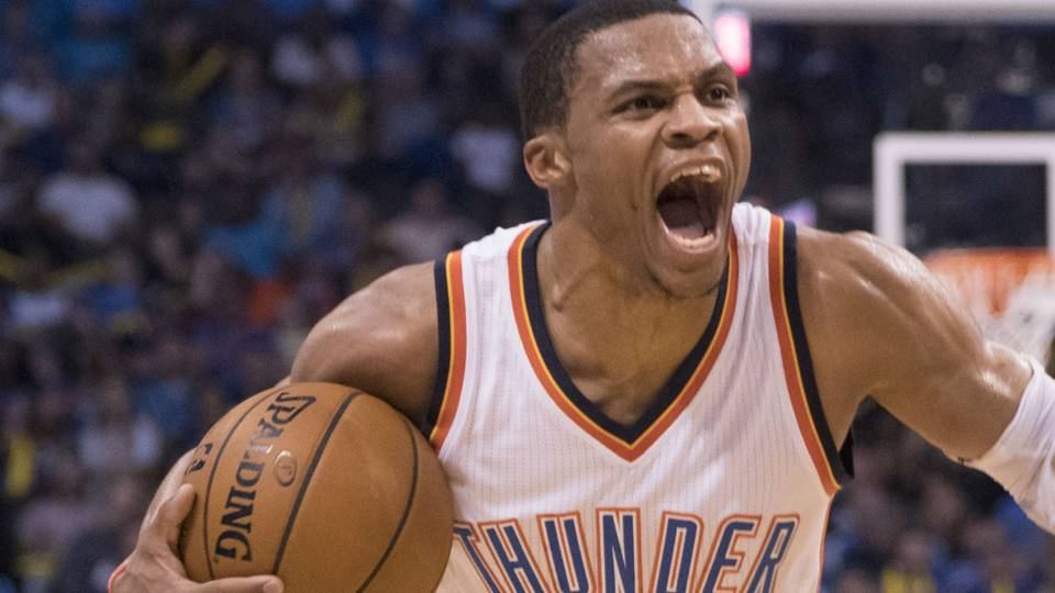 Russell Westbrook gets mad at media after Kevin Durant ...