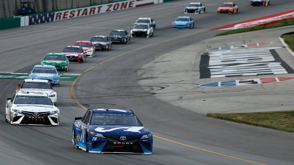 NASCAR results at Kentucky: Martin Truex Jr. dominates to win Quaker State 400 again