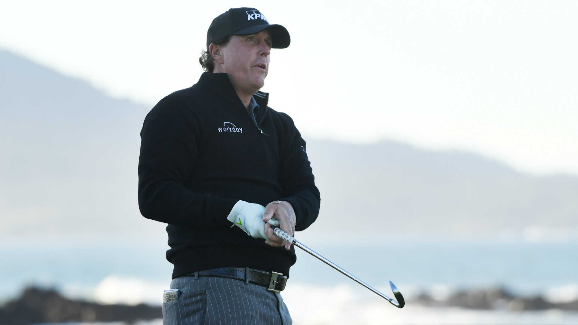 Pebble Beach Pro-Am: Phil Mickelson closes out win on Monday