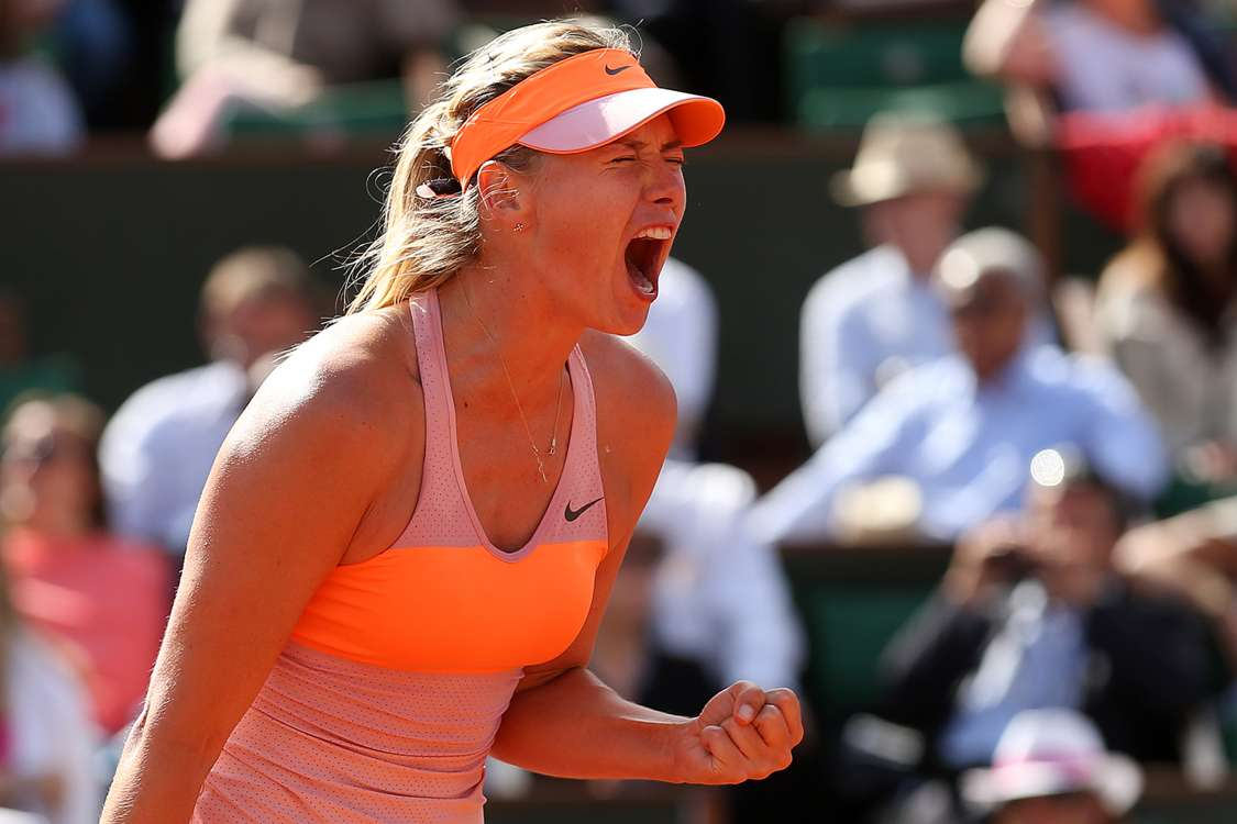 Sharapova regains French Open title