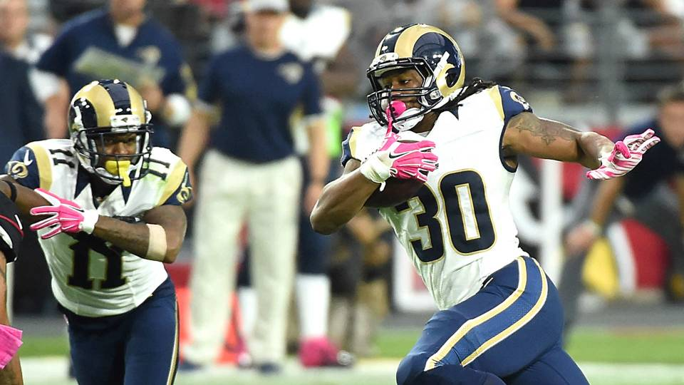 Rams Defense Stifles High Scoring Cardinals Todd Gurley Breaks Out
