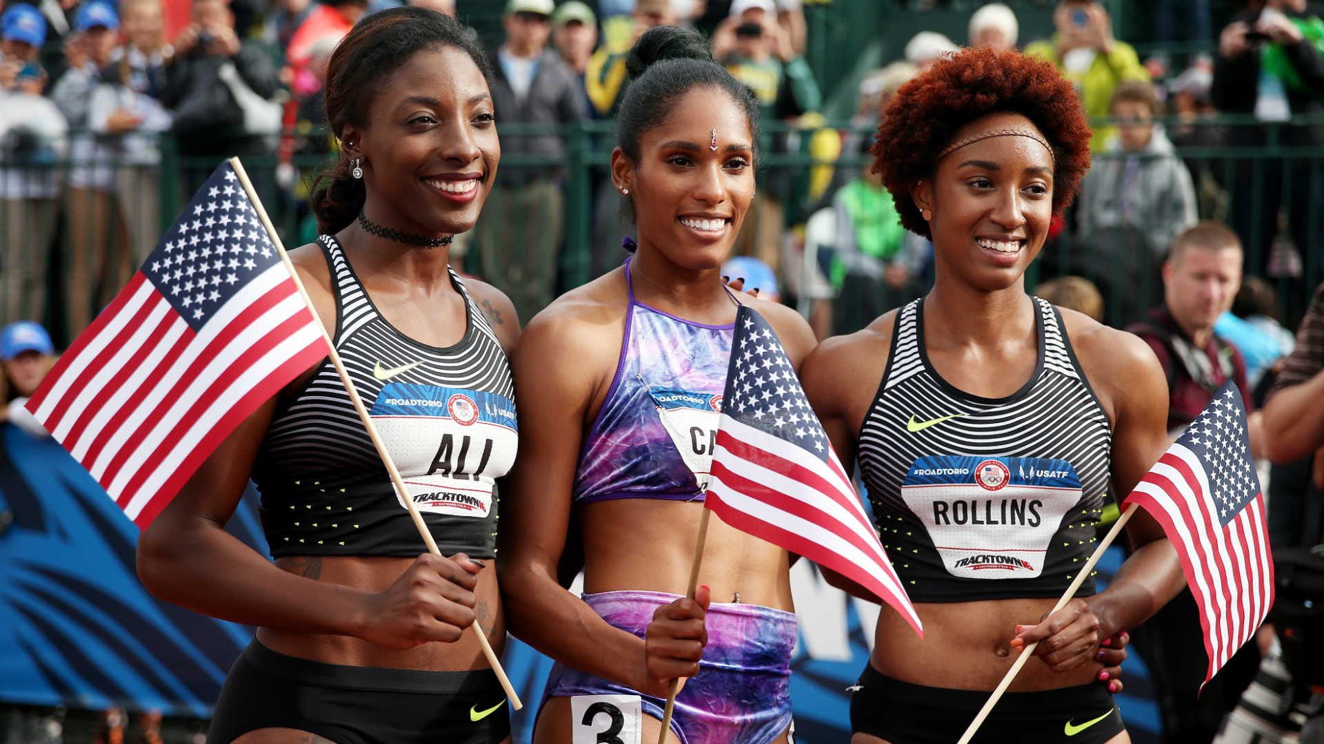 Brianna Rollins wins superb sprint hurdles at US Champs