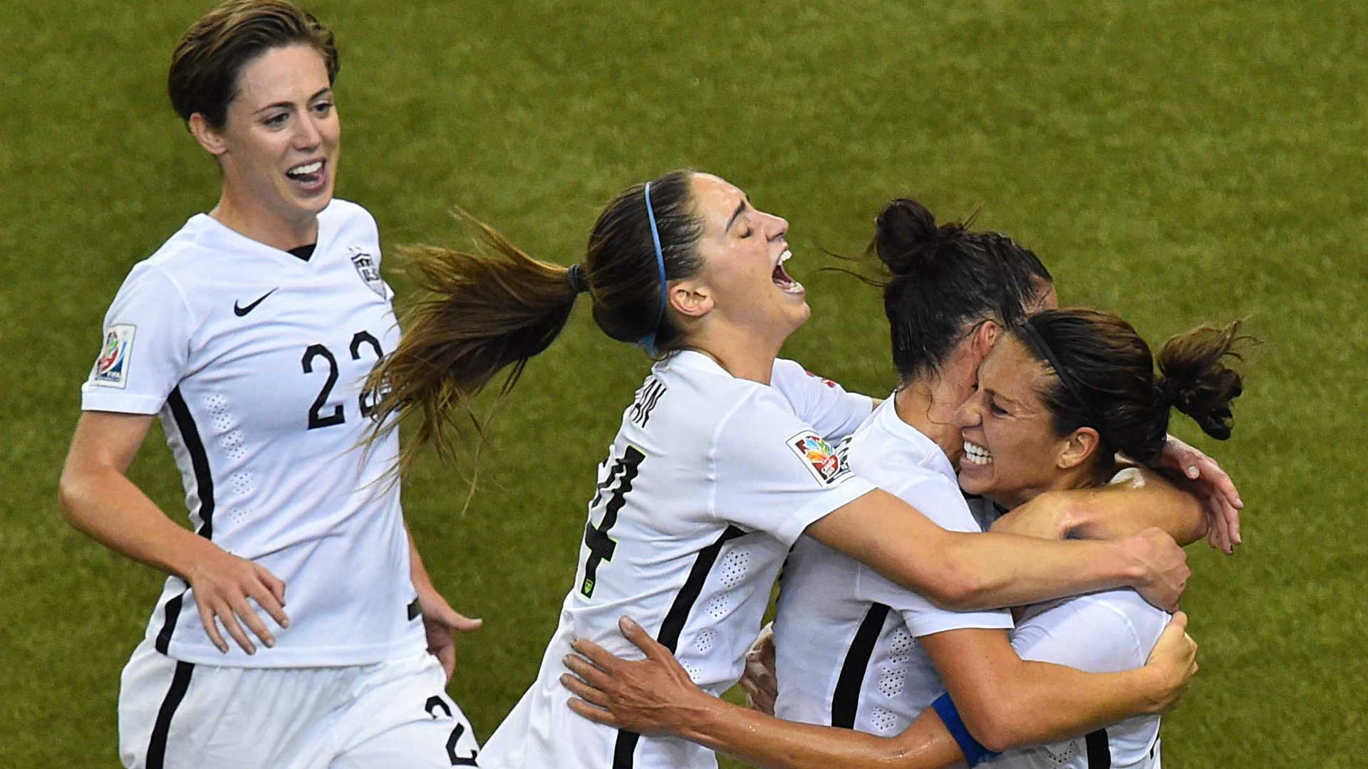 Women's World Cup: USA shuts out Germany to advance to championship