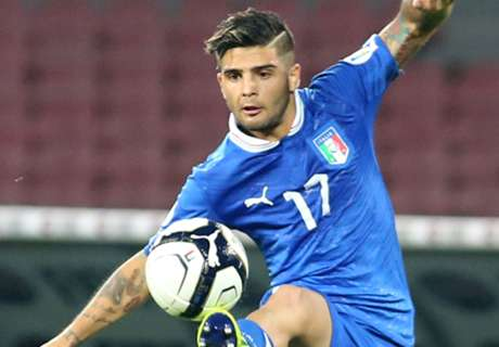 Insigne out of Italy squad