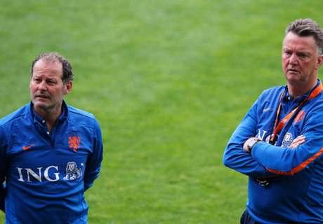 Blind wants to work with Van Gaal