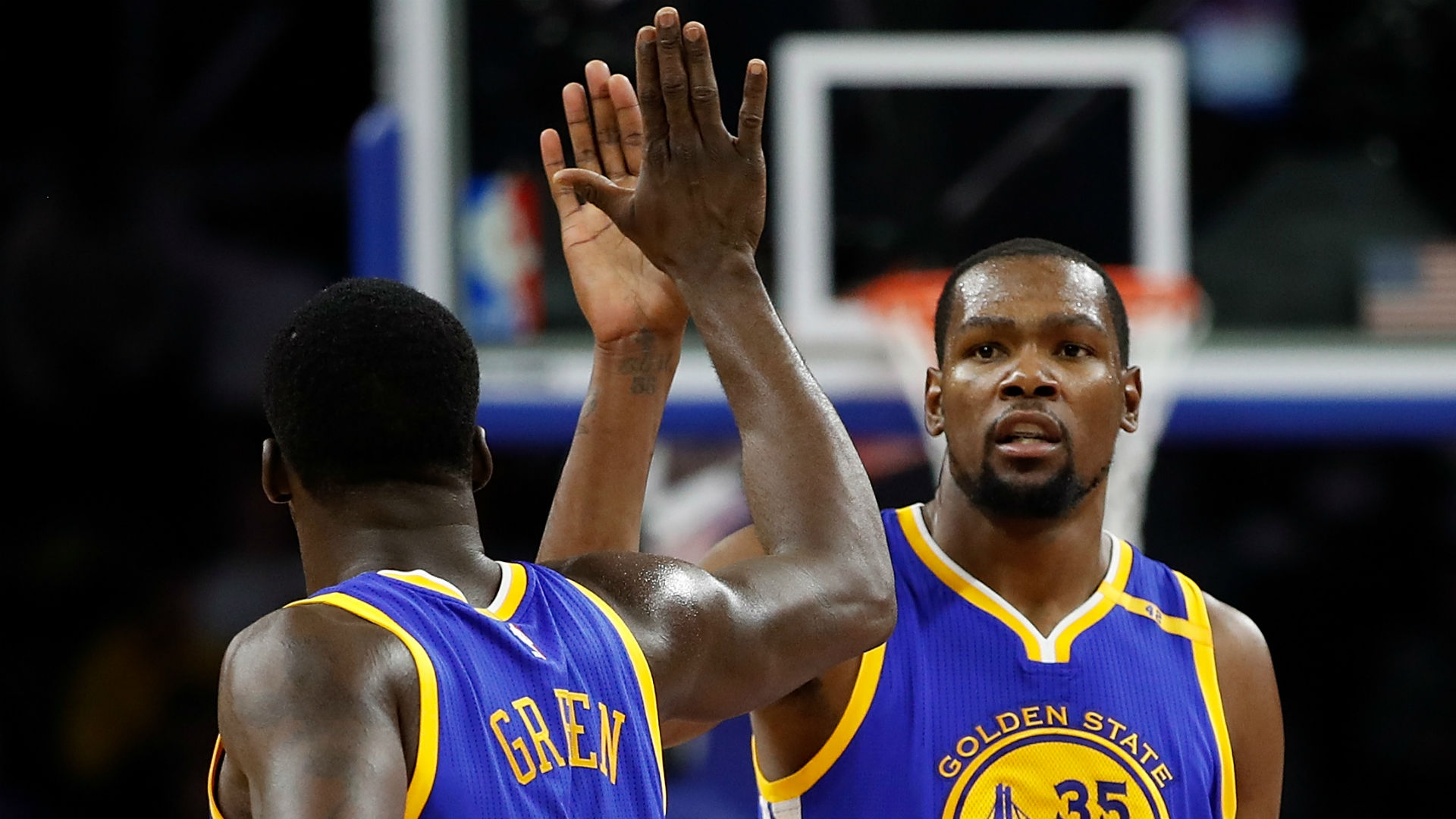 Warriors GM: Kevin Durant, Draymond Green in 'good place' after heated argument