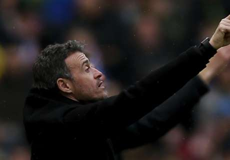 Luis Enrique hits out at Barca fans
