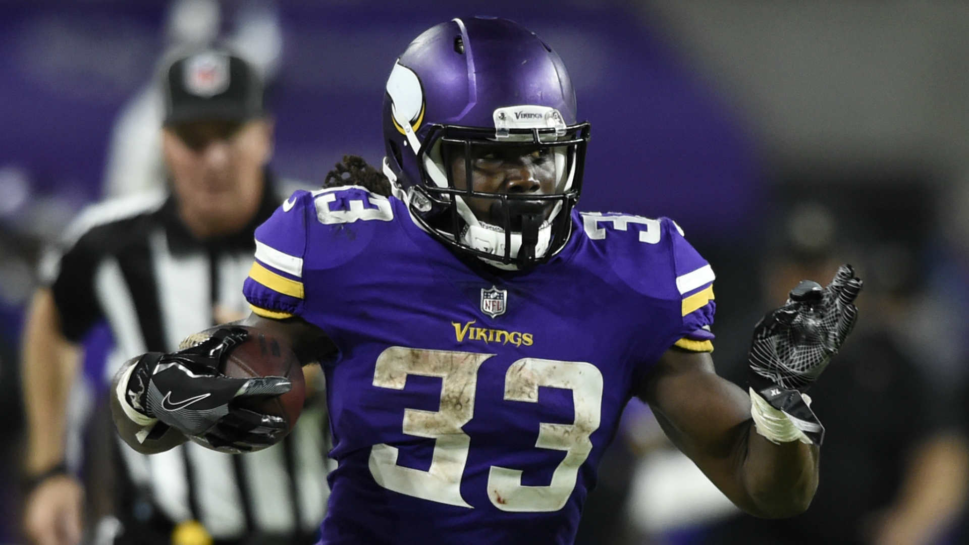 Vikings RB Dalvin Cook says hamstring is 'not there yet'