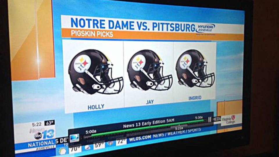 Steelers picked to beat Notre Dame