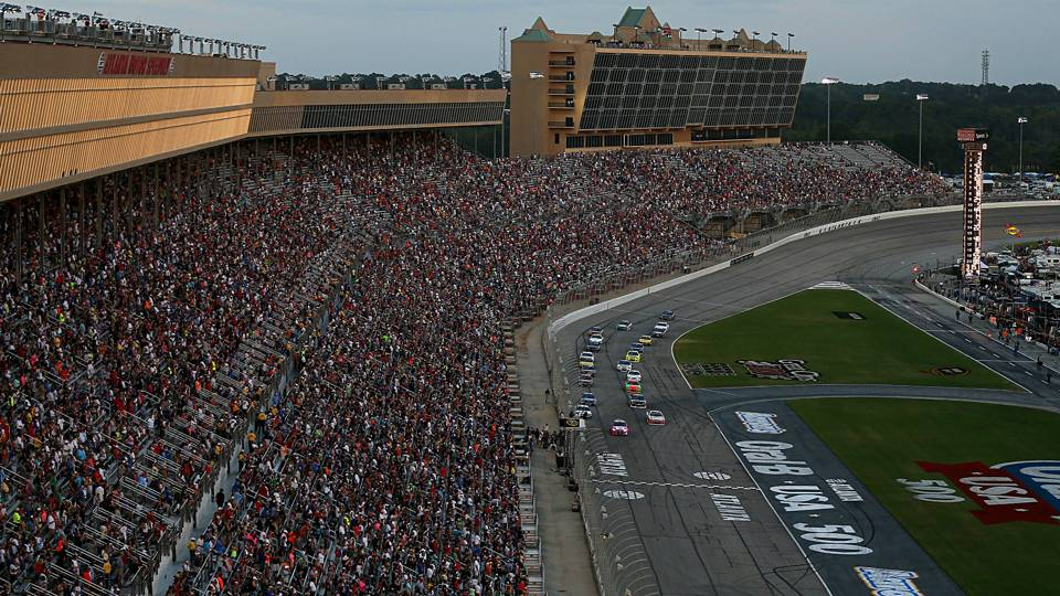 Atlanta Motor Speedway Repave Will Make Track Faster But