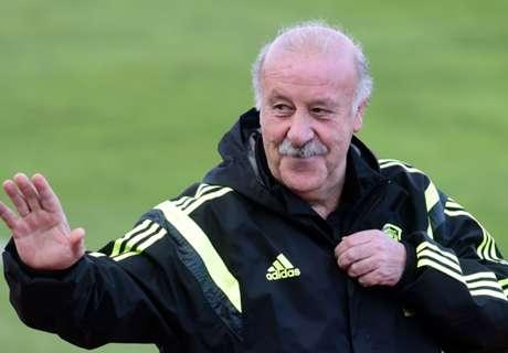 Del Bosque defends Spain record