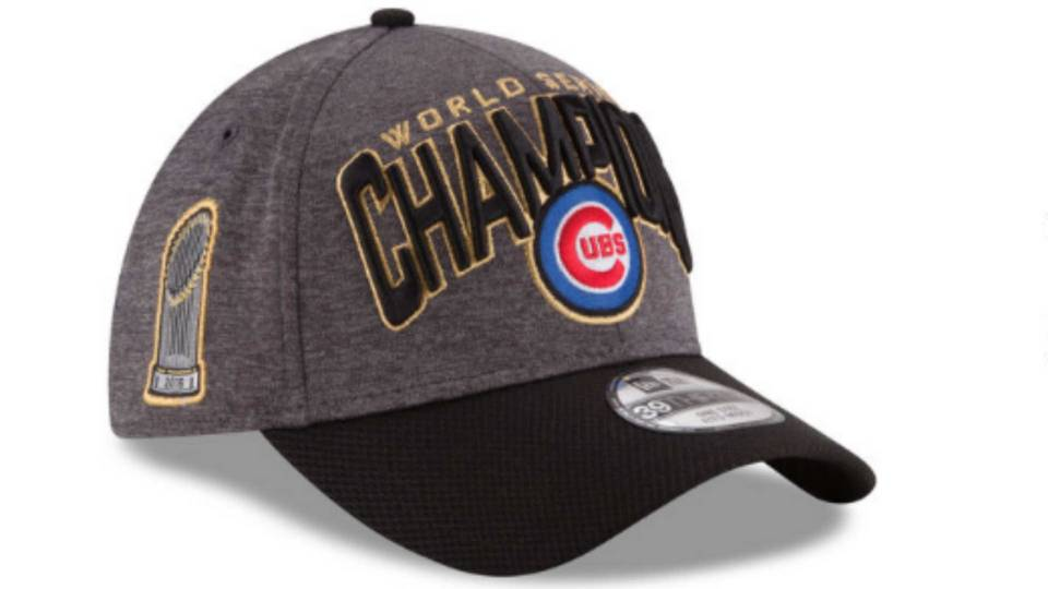 Here s how all those  Cubs World Champions  hats got to Chicago in time for  parade 7d72b362a4d