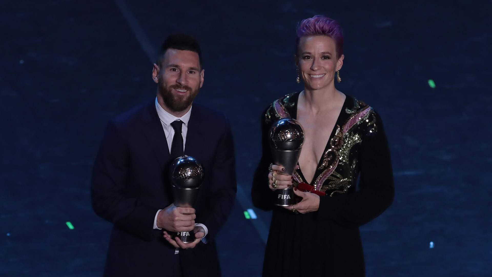 'They don't engage in anything!' - Rapinoe calls out Ronaldo & Messi for silence on racism, sexism