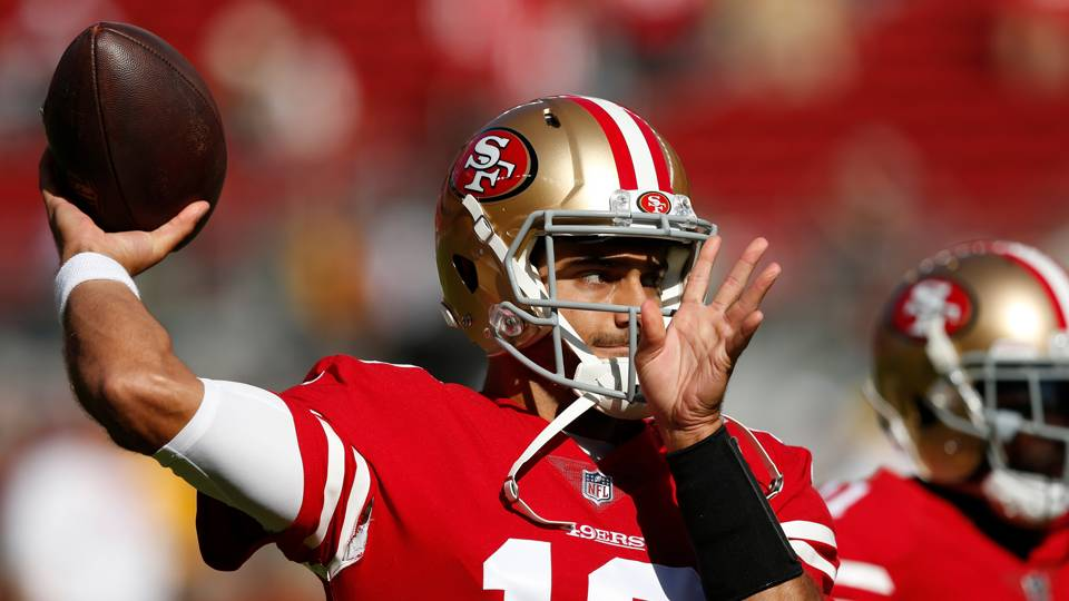 Jimmy Garoppolo injury update  49ers fear QB suffered torn ACL  70d2ce7d4