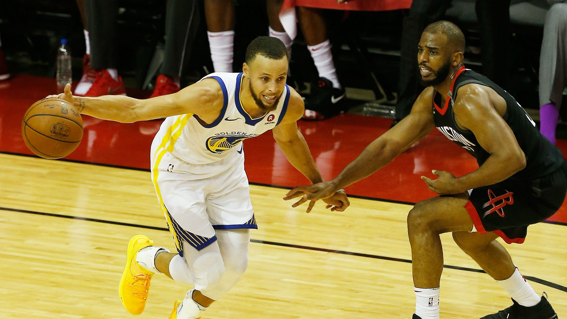 Rockets push defending champ Warriors to the brink