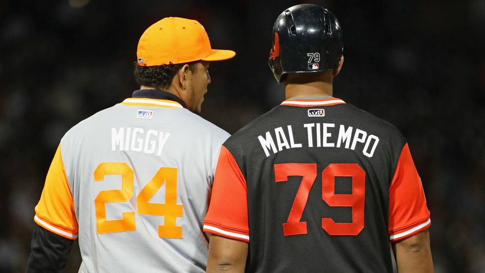 4a8af85bc MLB Players Weekend debut features nicknames