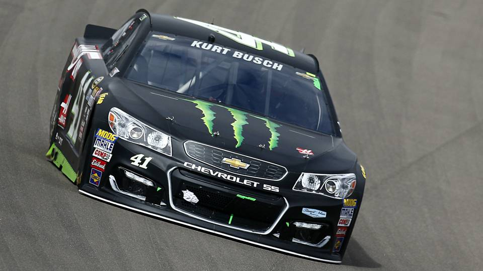 NASCAR starting lineup at New Hampshire: Kurt Busch wins pole; Martin Truex Jr. will start second