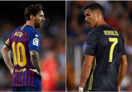 Pep: Messi, Ronaldo are 'two phenomena'