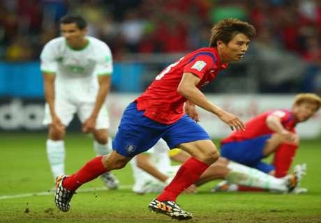 South Korea 1-1 Uzbekistan: Kuziboyev goal