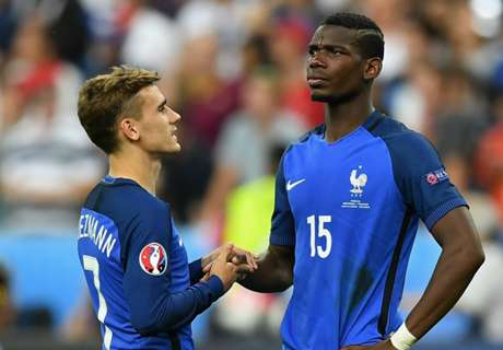 Pogba happy with Griezmann at City