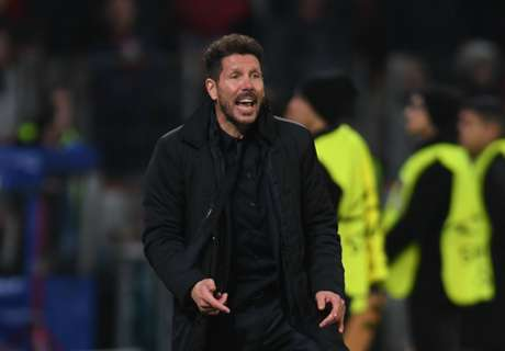 Simeone all smiles after Atleti win