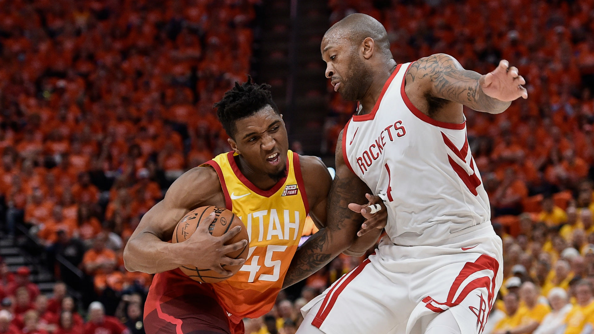 nba playoffs 2018: donovan mitchell says game 3 vs. rockets would've