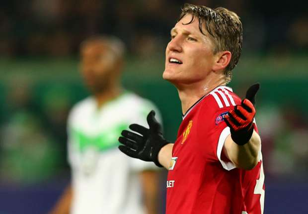 bastian schweinsteiger vor dem aus bei manchester united. Black Bedroom Furniture Sets. Home Design Ideas