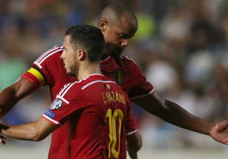 Kompany proud as Belgium is No. 1