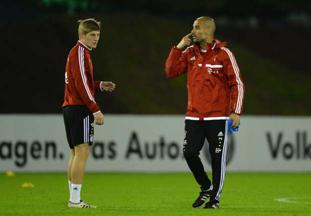 Kroos can become even better at Bayern, says Guardiola