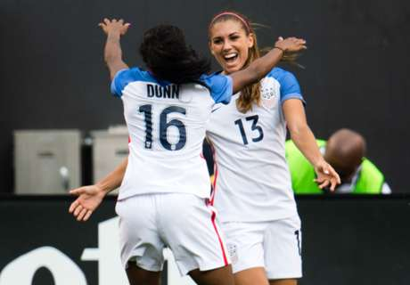 Dunn sends USWNT past South Africa