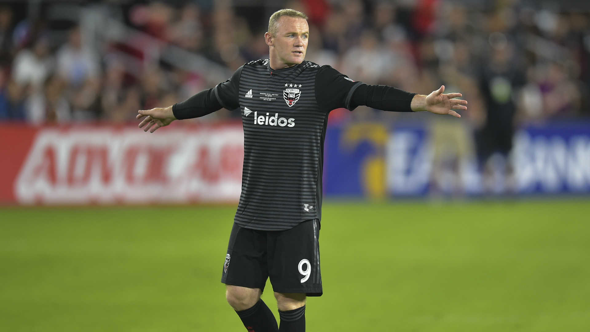 DC United captain Wayne Rooney won't be disciplined following arrest, report says